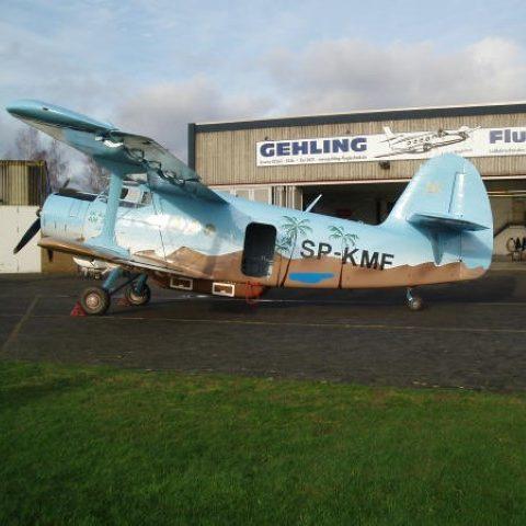 Gehling Flugtechnik | Flugzeuge | Antonov 2